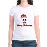 Merry Christmas - Pirate Sant Jr. Ringer T-Shirt