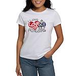 I Love Love More Penguins Women's T-Shirt