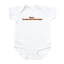 Happy hanakwanzaachristmakuh Infant Bodysuit