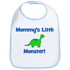 Mommy's Little Monster - Dino Bib