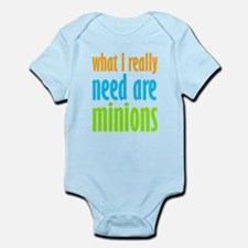 I Need Minions Body Suit