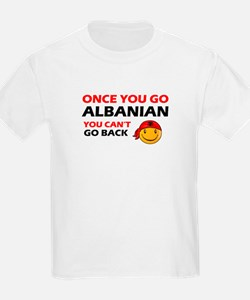 Albanian smiley designs T-Shirt
