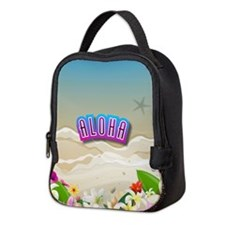 Funny Molokai Neoprene Lunch Bag