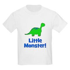 Little Monster - Dinosaur Kids T-Shirt