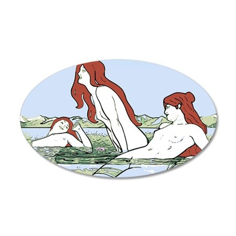 Art Nouveau Bathing Nymphs Wall Decal By Phantasmdesigns. Spring Flags. Tie Dye Logo. Tea Room Signs Of Stroke. Big Posters. Son Signs. Inc Logo. Melted Murals. Carbon Fiber Wrap Decals