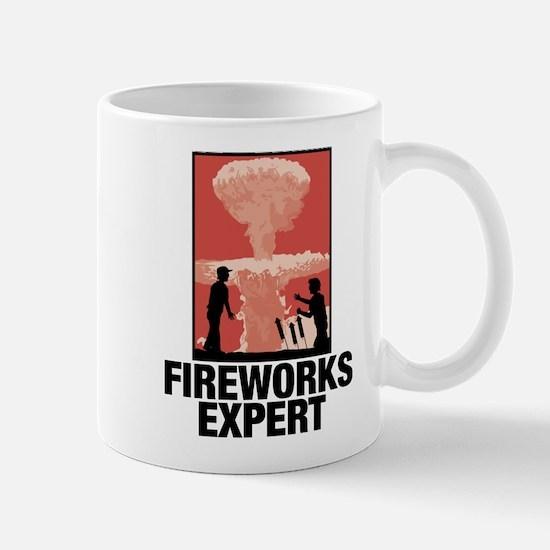 Mushroom Cloud Fireworks Expert Mug