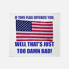 Flag3a Throw Blanket