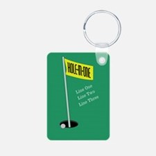 Golf Hole in One Keychains