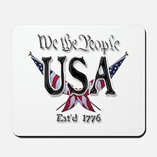 USA 2 Mousepad