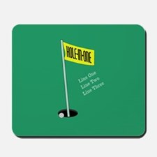 Golf Hole in One Mousepad