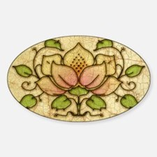 Water Lily Motif Decal