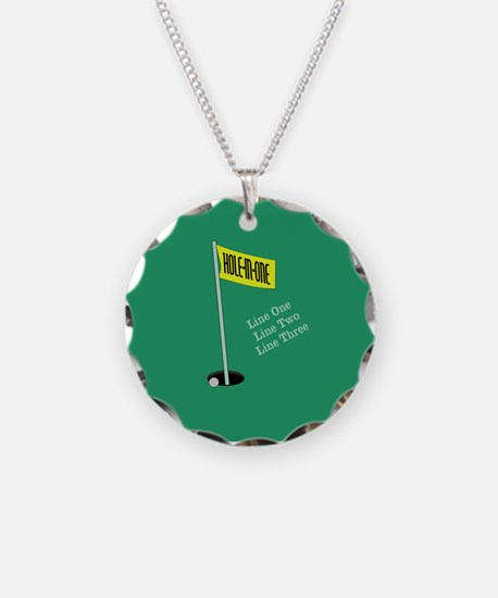 Golf Hole in One Necklace
