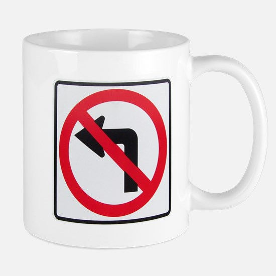 No Left Turn Mug