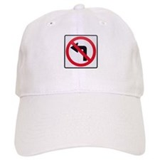 No Left Turn Baseball Cap
