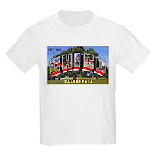 Chico California Greetings (Front) Kids T-Shirt