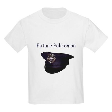 future policeman Kids T-Shirt