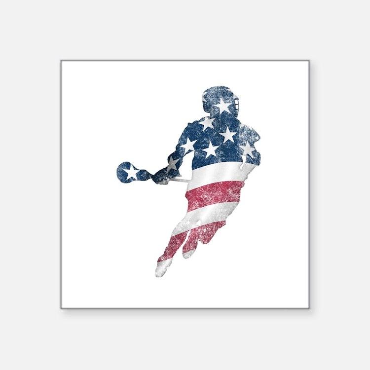 USA Lacrosse Sticker