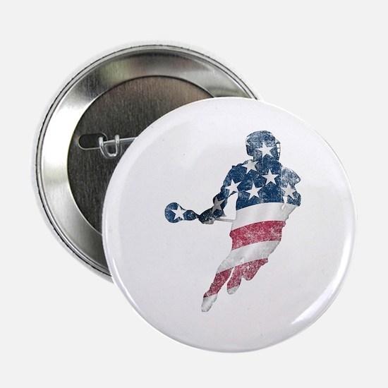 "USA Lacrosse 2.25"" Button"