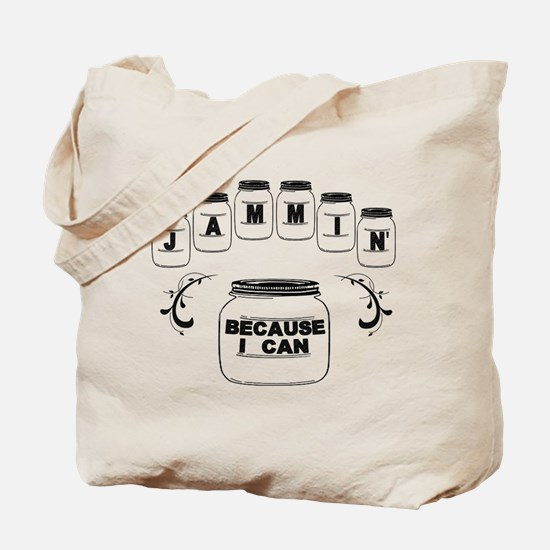 Jammin Tote Bag