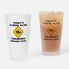 Today/Tomorrow Drinking Glass