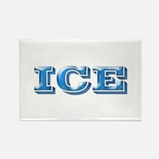 ICE Cold Smooth Rectangle Magnet
