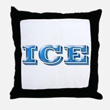 ICE Cold Smooth Throw Pillow