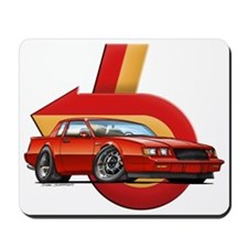 Red Grand National Mousepad