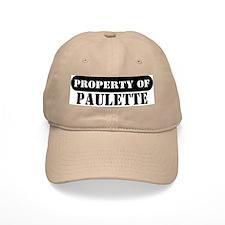 Property of Paulette Baseball Cap