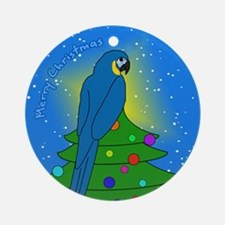 Tree Topper BT Macaw Christmas Ornament