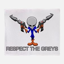 RESPECT THE GREYS Throw Blanket