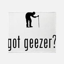 Geezer Throw Blanket