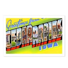 Cedar Rapids Iowa Greetings Postcards (Package of