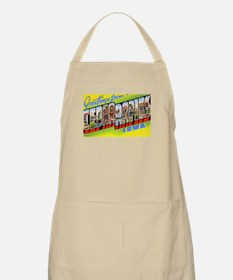 Cedar Rapids Iowa Greetings BBQ Apron
