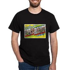 Cedar Rapids Iowa Greetings (Front) T-Shirt