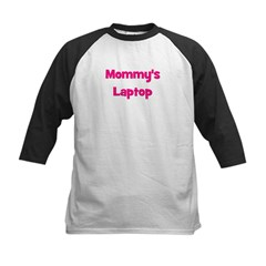 Mommy's Laptop pink Tee