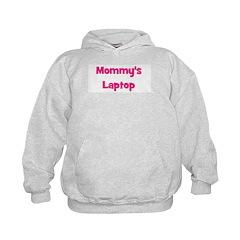 Mommy's Laptop pink Hoodie
