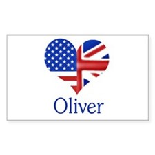Oliver Rectangle Decal