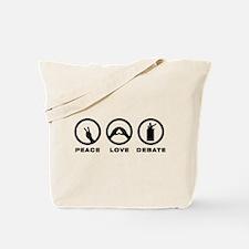Debater Tote Bag