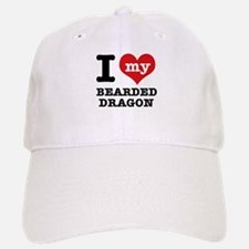 I love my Bearded Dragon Baseball Baseball Cap