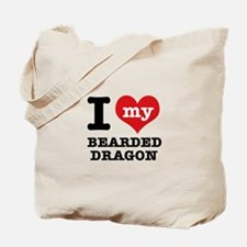 I love my Bearded Dragon Tote Bag