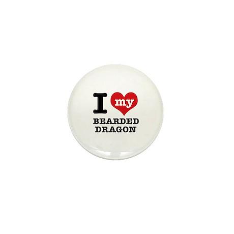 I love my Bearded Dragon Mini Button (100 pack)