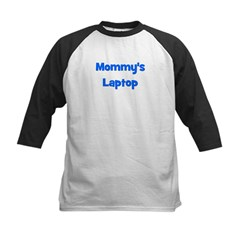 Mommy's Laptop blue Tee