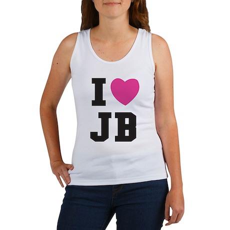 i-heart-j-b-college-2 Tank Top