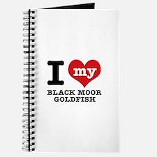 I love my Black Moor Goldfish Journal