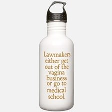 Pro Choice Humor Water Bottle