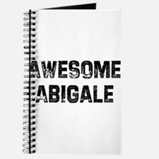 Awesome Abigale Journal
