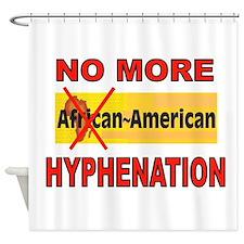 HYPHENATION Shower Curtain