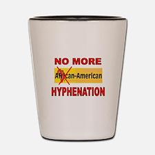 HYPHENATION Shot Glass