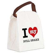 I love my Bull Snake Canvas Lunch Bag