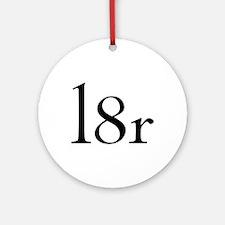 l8r Ornament (Round)